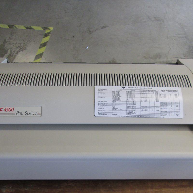 GBC 4500 refurb