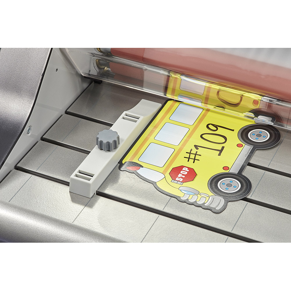 Ultima 65 laminator Adjustable edge guide