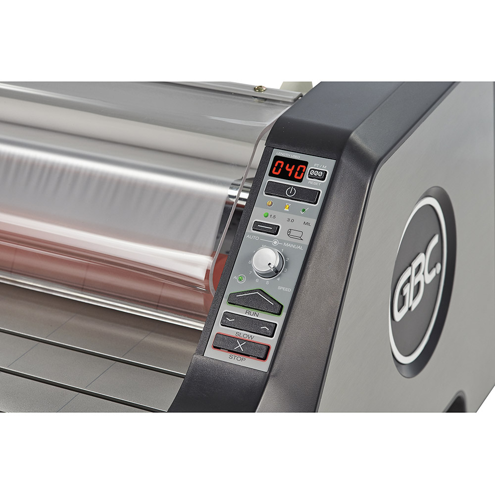 Ultima 65 laminator easy to use control panel